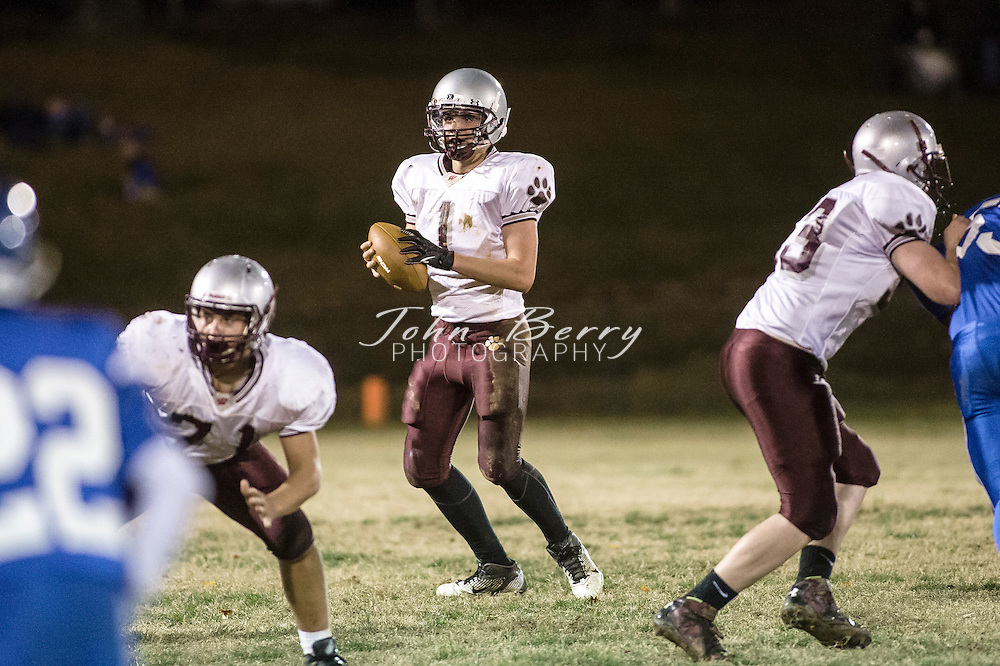 November 06, 2014.  <br /> MCHS JV Football vs Luray.