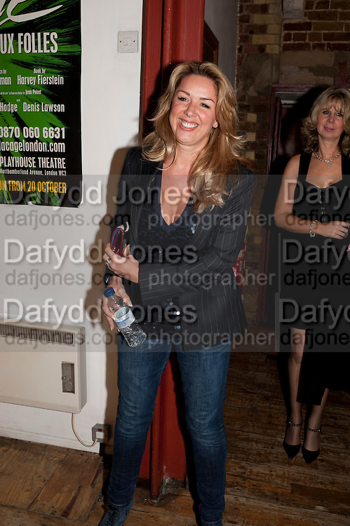 CLAIRE SWEENEY;, Gala performance of  RUBY WAX- LOSING IT  in aid of  Comic Relief. Menier Theatre. London. 23 February 2011. -DO NOT ARCHIVE-© Copyright Photograph by Dafydd Jones. 248 Clapham Rd. London SW9 0PZ. Tel 0207 820 0771. www.dafjones.com.