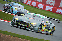 Paul Dalla lana (CAN) / Pedro Lamy (PRT) / Mathias Lauda (AUT) #98 Aston Martin Racing Aston Martin Vantage, WEC 6 Hours of Silverstone 2016 at Silverstone, Towcester, Northamptonshire, United Kingdom. April 15 2016. World Copyright Peter Taylor.