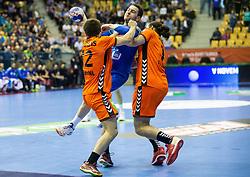 14-04-2019 SLO: Qualification EHF Euro Slovenia - Netherlands, Celje<br /> Miha Zarabec of Slovenia during handball match between National teams of Slovenia and Netherlands in Qualifications of 2020 Men's EHF EURO