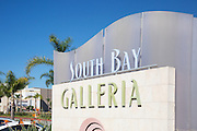 South Bay Galleria Mall in Redondo Beach California
