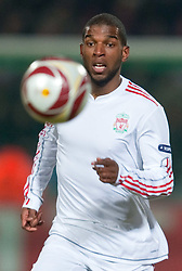 11.03.2010, Metropoles Stadium, Lille, FRA, UEFA EL, OSC Lille vs Liverpool FC im Bild Liverpool's Ryan Babel in action, EXPA Pictures © 2010, PhotoCredit: EXPA/ Propaganda/ D. Rawcliffe / for Slovenia SPORTIDA PHOTO AGENCY.