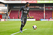 Ricardo Pereira of Leicester City (21) in action during the Pre-Season Friendly match between Scunthorpe United and Leicester City at Glanford Park, Scunthorpe, England on 16 July 2019.