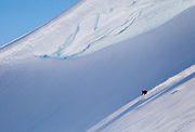 Ski Touring and Camping in the Chugach Mountains near Cordova, Alaska.<br /> <br /> Photo by David Stubbs &copy; 2012