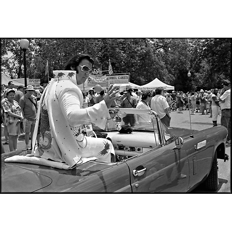 Elvis. Hog Day. Hillsborough, NC