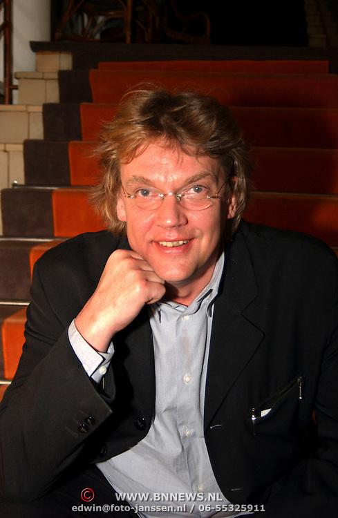 CD presentatie Edwin Evers staat op, Henk Westbroek