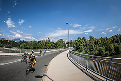 Groselj Matic of Sava Kranj  during cycling race 48th Grand Prix of Kranj 2016 / Memorial of Filip Majcen, on July 31, 2016 in Kranj centre, Slovenia. Photo by Vid Ponikvar / Sportida