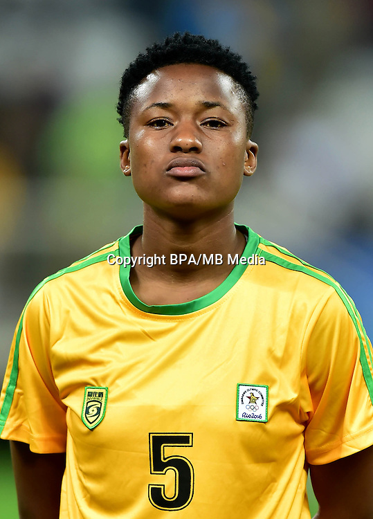 Fifa Woman's Tournament - Olympic Games Rio 2016 -  <br /> Zimbabwe National Team - <br /> Emmaculate MSIPA