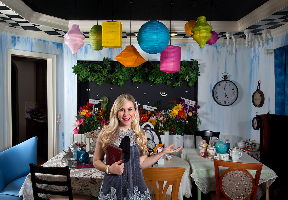 Actress and entrepreneur Ashley Eckstein  Eckstein is also the founder of Her Universe, a science fiction and fantasy merchandise line geared towards female fans.