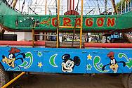 Carnival ride in Ciro Redondo, Ciego de Avila, Cuba.
