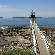 Marshall Point Light, Point Clyde, Maine, USA
