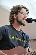 Will Edwards concert at 2010 Tucson Folk Festival.