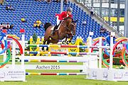 Max Kuhner - Coeur de Lion 14<br /> FEI European Championships Aachen 2015<br /> © DigiShots