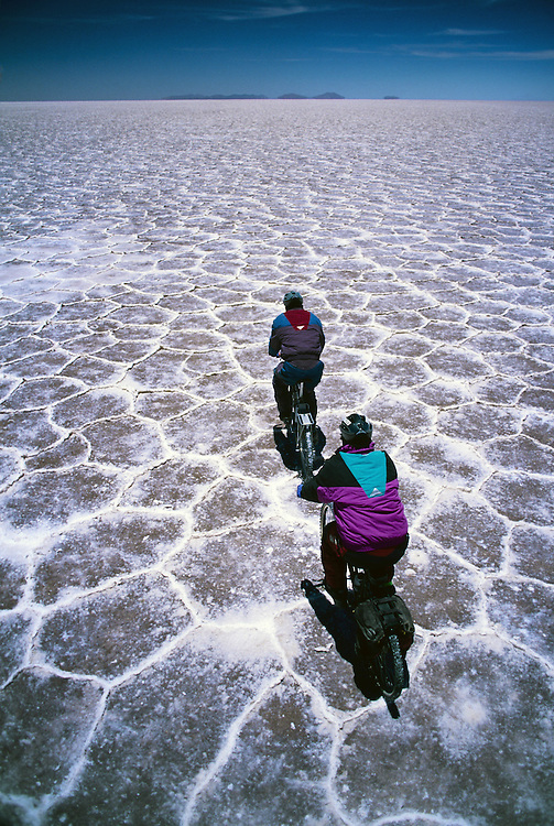 Mountain bike expedition in Bolivia.