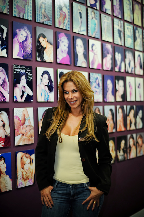 """Gisselle Reyes, former Miss Venezuela who currently runs Gisselle's International Models, a school that trains girls to become future beauty pageant contestants and/or models. Gisselle also works as the catwalk trainer for the Miss Venezuela organization at the """"La Quinta"""" school."""