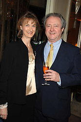 PATRICK & SARAH REARDON he is Kate reardon's father at a party to celebrate the publication of Top Tips For Girls by Kate Reardon held at Claridge's, Brook Street, London on 28th January 2008.<br /><br />NON EXCLUSIVE - WORLD RIGHTS