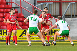 11th November 2018 , Racecourse Ground,  Wrexham, Wales ;  Rugby League World Cup Qualifier,Wales v Ireland ; Ben Morris of Wales in action<br /> <br /> <br /> Credit:   Craig Thomas/Replay Images