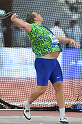 Daniel Stahl (SWE) wins the discus at 231-6 (70.56m) during the IAAF Doha Diamond League 2019 at Khalifa International Stadium, Friday, May 3, 2019, in Doha, Qatar (Jiro Mochizuki/Image of Sport)