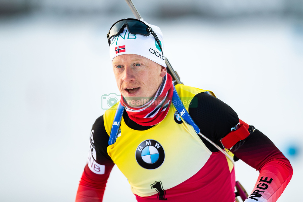 March 10, 2019 - –Stersund, Sweden - 190310 Johannes Thingnes Bö of Norway ahead of the Men's 12,5 km Pursuit during the IBU World Championships Biathlon on March 10, 2019 in Östersund. 10, 2019 in Östersund..Photo: Johan Axelsson / BILDBYRÃ…N / Cop 245 (Credit Image: © Johan Axelsson/Bildbyran via ZUMA Press)