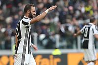04.02.2018 - Torino - Serie A 2017/18 - 23a giornata  -  Juventus-Sassuolo nella  foto: Gonzalo Higuain esulta dopo il gol
