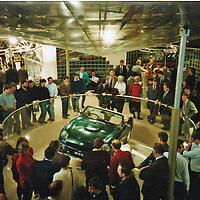 1992 MG RV8 Launch