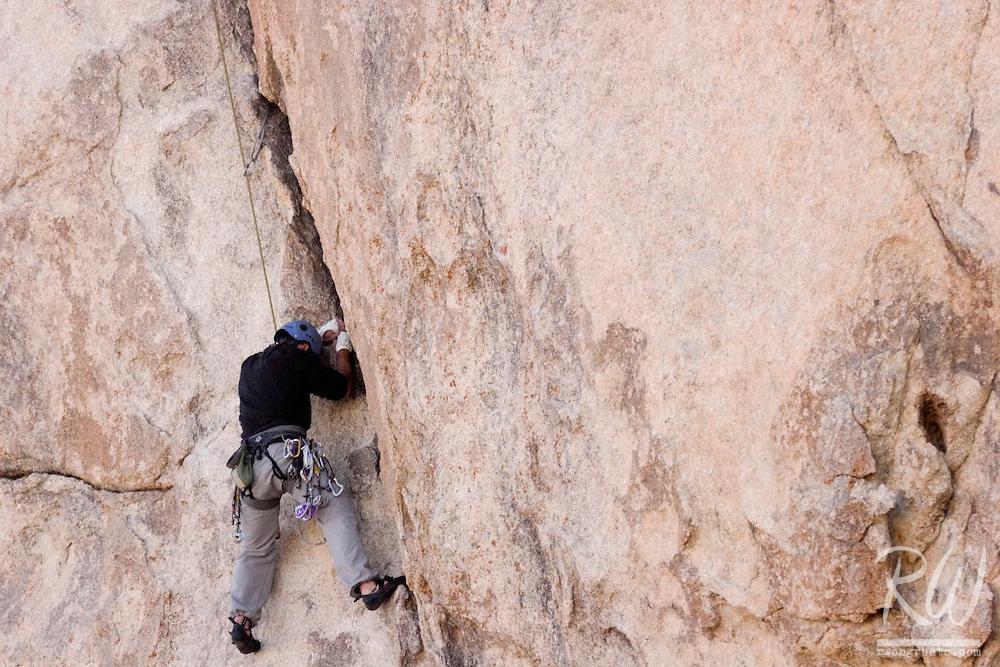 Rock Climber, Joshua Tree National Park, California