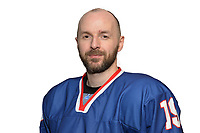 BUDAPEST, HUNGARY - APRIL 18:  Great Britain Ice Hockey Team Forward, Colin Shields. IIHF World Championship Division 1A (Photo by Dean Woolley)
