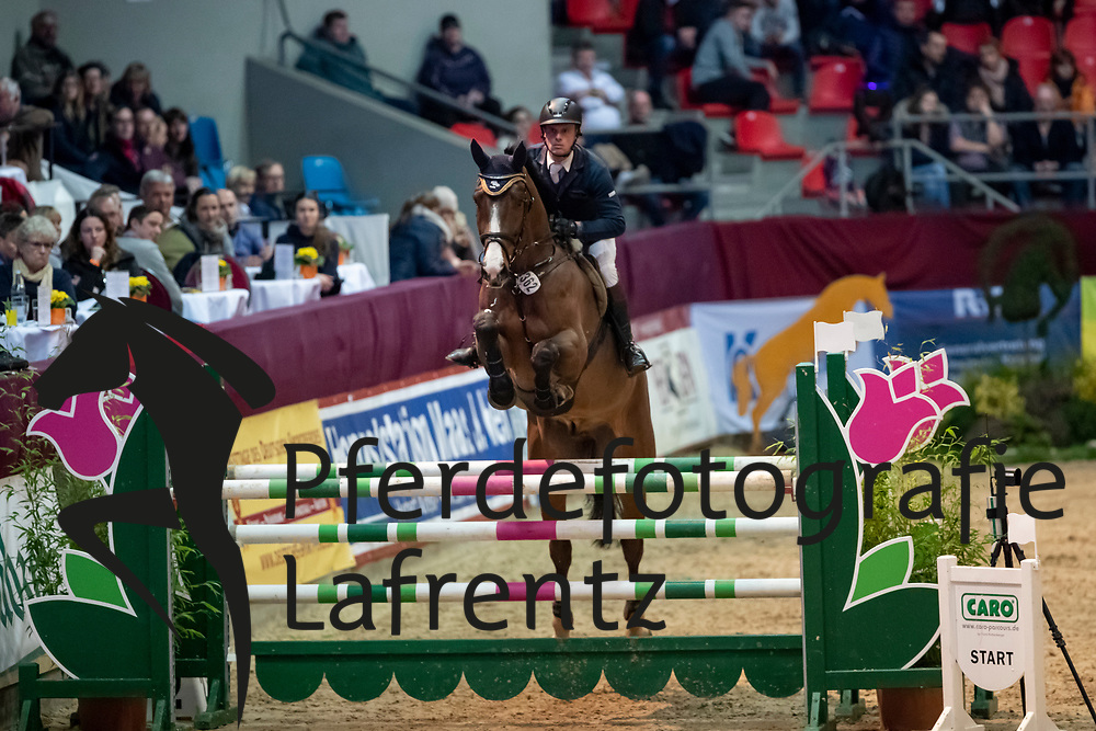 BRUHNS Robert (GER), Contharlot<br /> Neustadt-Dosse - CSI 2019<br /> 2. Qualifikation Youngster Tour für 7 und 8 jährige Pferde<br /> 11. Januar 2019<br /> © www.sportfotos-lafrentz.de/Stefan Lafrentz