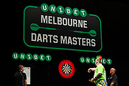 Unibet Melbourne Darts Masters - Friday