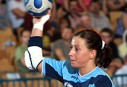 Tatjana Oder of Slovenia at handball game between women national teams of Slovenia and Belorussia, second qualification game for the European Chamionship 2009, on June 7, 2008, in Arena Zlatorog, Celje, Slovenija. Win of Belorussia, who qualified for EC 2009 in Macedonia. (Photo by Vid Ponikvar / Sportal Images)