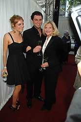 Left to right, SIENNA MILLER, MATTHEW RHYS and her mother JOSEPHINE MILLER at the Glamour magazine Women of the Year Awards held in the Berkeley Square Gardens, London W1 on 5th June 2007.<br /><br />NON EXCLUSIVE - WORLD RIGHTS