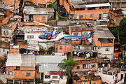 Belo Horizonte_MG, Brasil...Sobrevoo da Policia Militar sobre Belo Horizonte, Minas Gerais.Na foto aglomerado Serra...Helicopter of the Military Police over Belo Horizonte, Minas Gerais. In this photo Serra neighborhood...Foto: LEO DRUMOND / NITRO