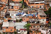 Belo Horizonte_MG, Brasil...Sobrevoo da Policia Militar sobre Belo Horizonte, Minas Gerais.Na foto aglomerado Serra...Helicopter of the Military Police over Belo Horizonte, Minas Gerais. In this photo Serra neighborhood...Foto: LEO DRUMOND / NITRO