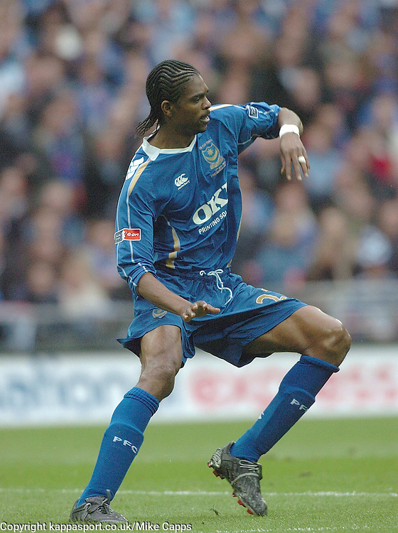 KANU, PORTSMOUTH, Cardiff City v Portsmouth, FA Cup Final, Wembley Stadium 17th May 2008