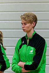 26-10-2019 NED: Dros Alterno - Set Up 65, Apeldoorn<br /> Round 4 of Eredivisie volleyball - Marjolein Oskam #14 of Alterno