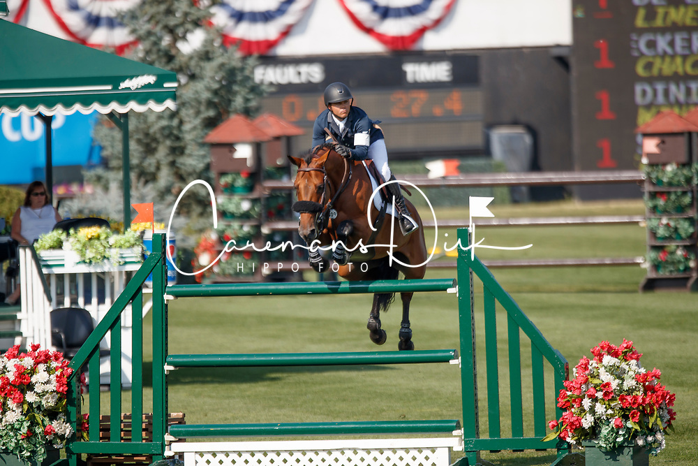Farrington Kent, USA, Gazelle<br /> Spruce Meadows Masters - Calgary 2017<br /> &copy; Dirk Caremans<br /> 06/09/2017,