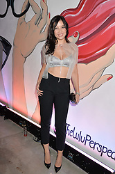 DAISY LOWE at the launch of The Lulu Perspective to celebrate 25 years of Lulu Guinness held at 74a Newman Street, London on 13th September 2014.