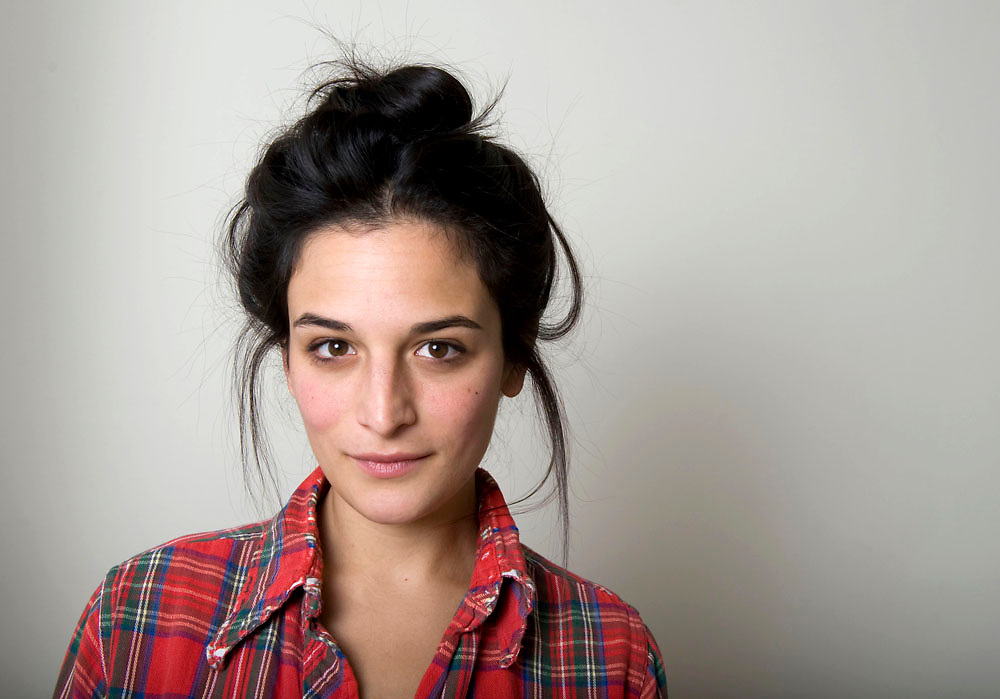 Actress Jenny Slate photographed in her Brooklyn home