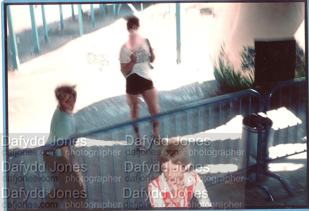 Candy Floss, In the fairground, Butlins 1979<br /> <br /> © Copyright Photograph by Dafydd Jones 66 Stockwell Park Rd. London SW9 0DA Tel 020 7733 0108 www.dafjones.com