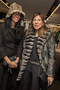 Ivona Kirschel; Jo Vickers, Anna Scolaro hosts a charity shopping event at  Dolce and Gabbana, 175 Sloane St. London. In aid of TeamFox.org for Parkinsons. 10 February 2016