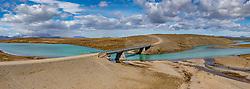 THEMENBILD - unterwegs auf Islands Hochlandpiste F 35, Brücke, aufgenommen am 16. Juni 2019 in Island // on the way on Iceland's highland piste F 35, bridge, Iceland on 2019/06/16. EXPA Pictures © 2019, PhotoCredit: EXPA/ Peter Rinderer