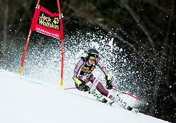 "Sara Hector (SWE) competes during 1st Run of the FIS Alpine Ski World Cup 2017/18 5th Ladies' Giant Slalom race named ""Golden Fox 2018"", on January 6, 2018 in Podkoren, Kranjska Gora, Slovenia. Photo by Ziga Zupan / Sportida"