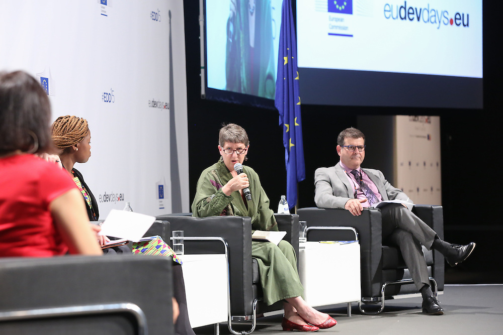 03 June 2015 - Belgium - Brussels - European Development Days - EDD - Food - Feeding the planet together - Barbara Noseworthy © European Union
