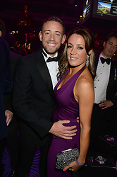 British fine jewellery brand Boodles welcomed guests for the 2013 Boodles Boxing Ball in aid of Starlight Children's Foundation held at the Grosvenor House Hotel, Park Lane, London on 21st September 2013.<br /> Picture Shows:- NATALIE PINKHAM and her brother SAM PINKHAM.<br /> <br /> Press release - https://www.dropbox.com/s/a3pygc5img14bxk/BBB_2013_press_release.pdf<br /> <br /> For Quotes  on the event call James Amos on 07747 615 003 or email jamesamos@boodles.com. For all other press enquiries please contact luciaroberts@boodles.com (0788 038 3003)