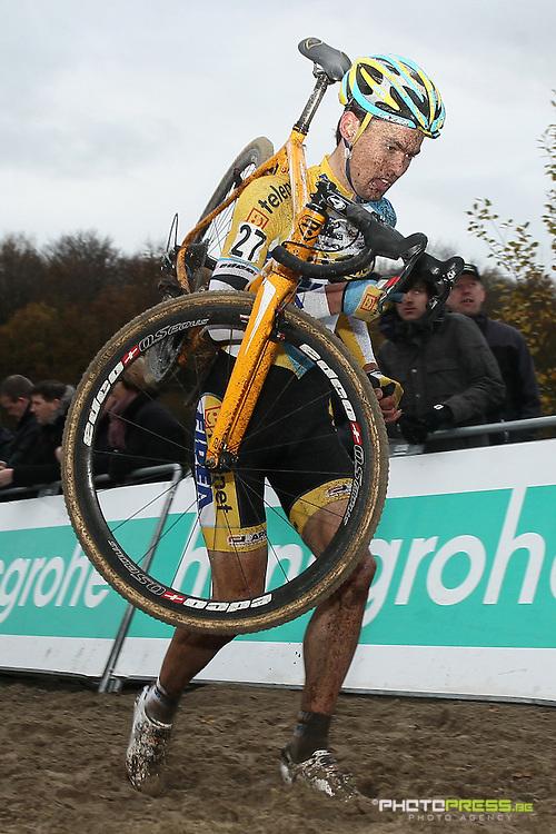 NETHERLANDS / NEDERLAND / PAYS BAS / GIETEN / CYCLING / WIELRENNEN / CYCLISME / CYCLOCROSS / VELDRIJDEN /  HANSGROHE SUPERPRESTIGE VELDRIJDEN / JOERI ADAMS /