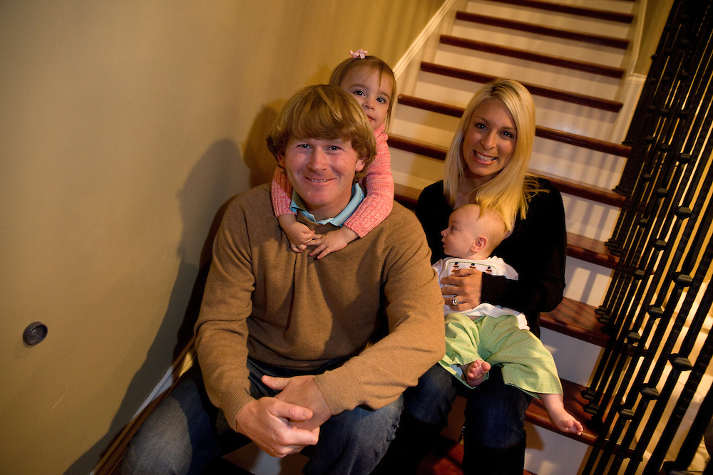 Brandt Snedeker enjoys his time off the course with his family in Nashville, Tenn. Snedeker, rehabbing a injury, won the FedEx Cup championship in 2012 and his top play carried over into 2013 where he won at Pebble Beach.