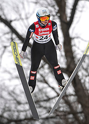 02.02.2019, Energie AG Skisprung Arena, Hinzenbach, AUT, FIS Weltcup Ski Sprung, Damen, Wertungsdurchgang, im Bild Jacqueline Seifriedsberger (AUT) // Jacqueline Seifriedsberger (AUT) during the woman's Competition Jump of FIS Ski Jumping World Cup at the Energie AG Skisprung Arena in Hinzenbach, Austria on 2019/02/02. EXPA Pictures © 2019, PhotoCredit: EXPA/ Reinhard Eisenbauer