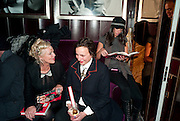 AMANDA ELIASCH; SELINA BLOW; CATHERINE VANAZZI, Lauren Goldstein Crowe hosts reception to thank those that particitated in the research for her book: Isabella, A Life in Fashion. The Fumoir. Claridge's. London. 8 November 2010. -DO NOT ARCHIVE-© Copyright Photograph by Dafydd Jones. 248 Clapham Rd. London SW9 0PZ. Tel 0207 820 0771. www.dafjones.com.