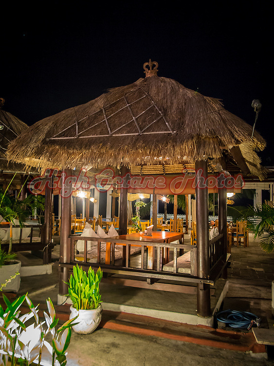 Segara Seafood & Indonesian Restaurant is located on the beach side of Discovery Mall, Jalan Kartika Plaza, Kuta, Bali, Indonesia.