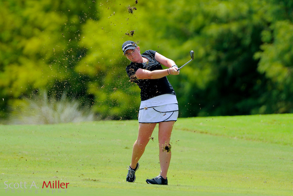 Casey Grice during the final round of the Symetra Tour Championship at LPGA International on Sept. 21, 2014 in Daytona Beach, Florida. <br /> <br /> &copy;2014 Scott A. Miller